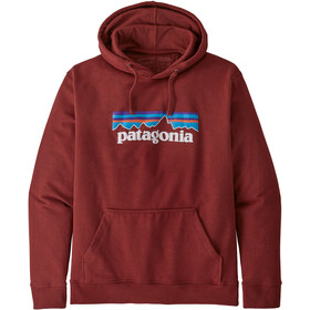 Patagonia P-6 Logo Uprisal Hoodie Men barn red